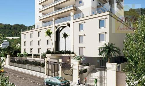 Apartamento À Venda, 112 M² Por R$ 754.000,00 - Canto Do Forte - Praia Grande/sp - Ap1593