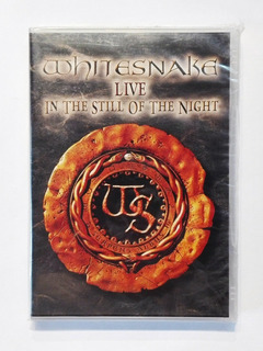 Whitesnake Live In The Still Of The Night Dvd Nuevo