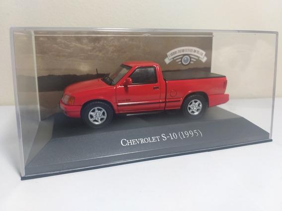 Chevrolet S-10 1995 Carros Inesquecíveis Brasil Escala 1/43