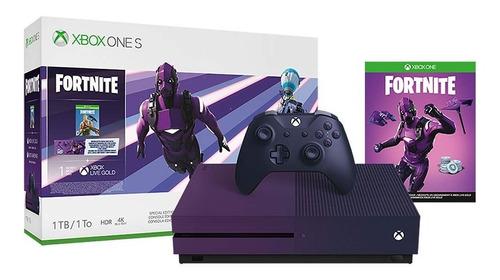 Consola Microsoft Xbox One S Edición Especial 1 Tb Fortnite