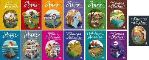 Kit Anne De Green Gables - 13 Volumes (colecao Completa)