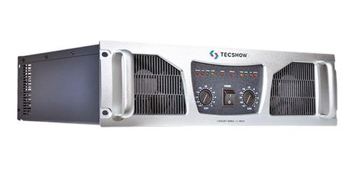Potencia Amplificador Ampro Concert C-4800 2ch 4800w