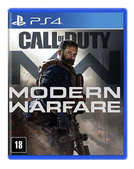 Call Of Duty Modern Warfare Ps4 Mídia Física Novo Lacrado