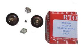 Valvula Compensadora Diafragma Cb 400 (par) Rto Vl035r