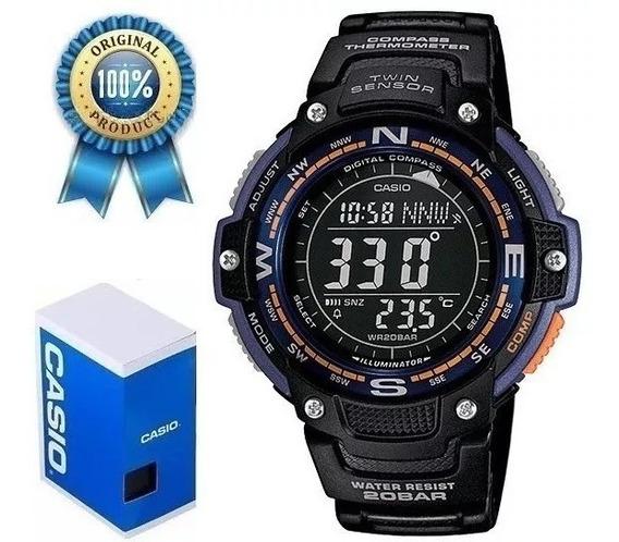 Casio Sgw-100-2bcf Con Brújula Y Termometro