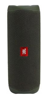 Parlante JBL Flip 5 portátil inalámbrico Green