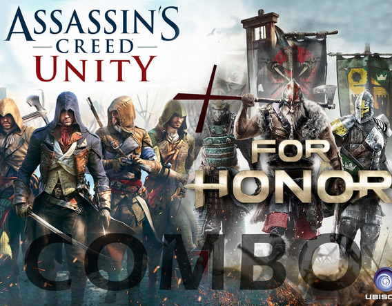 Assassins Creed Unity + For Honor Pc, Combo Original Online