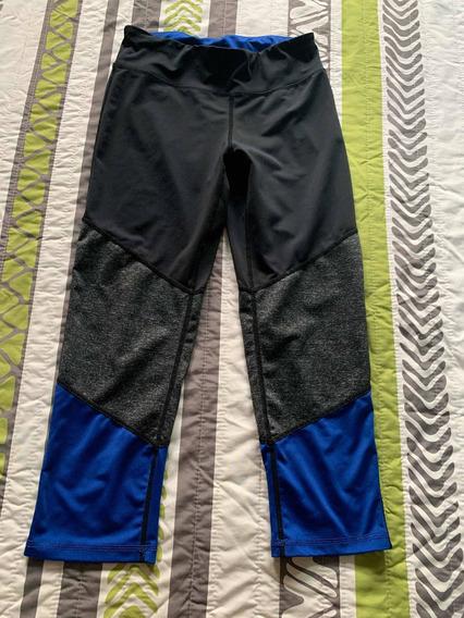 Leggings Malla Stretch Danskin Negro/azul/gris