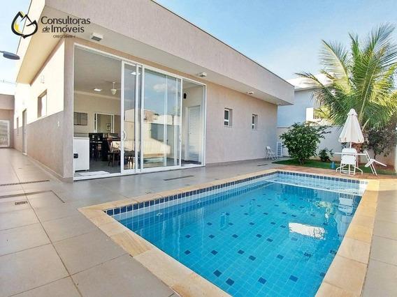 Casa Com 3 Dormitórios À Venda, 250 M² Por R$ 1.300.000,00 - Condomínio Athenas - Paulínia/sp - Ca0411