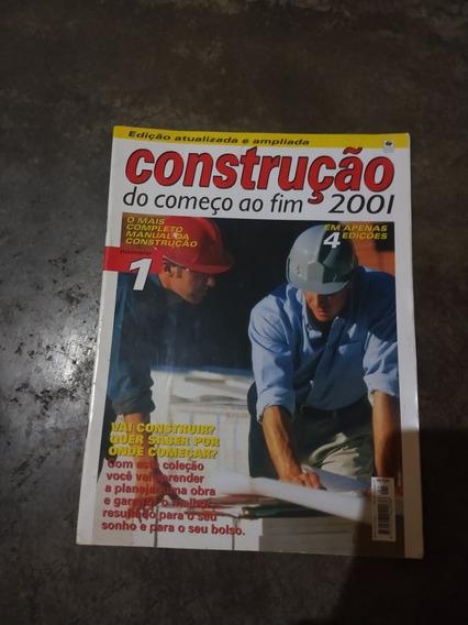 Revista Construção Do Começo Ao Fim 2001