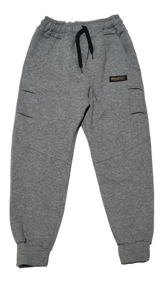 Pantalon Babucha Doble Frisa Niños