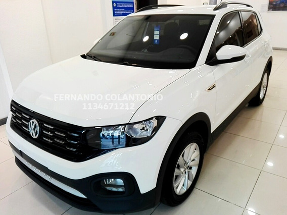 T-cross Comfortline 0km 2020 Manual Volkswagen Nueva Vw Full