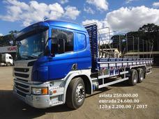 P310 Truck 2017 0km Com Carroceria 8.50 Mts