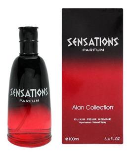Perfume Alan Collection Hombre Sensations X60 Ml Vaporizador