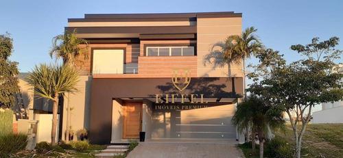 Casa Com 5 Dormitórios À Venda, 400 M² Por R$ 2.500.000,00 - Condomínio Residencial Alphaville I - Votorantim/sp - Ca0053