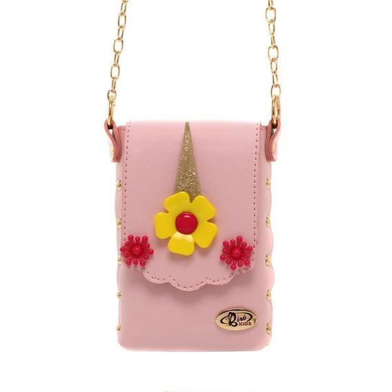 Bolsa Para Celular Unicórnio Transversal Original Rose