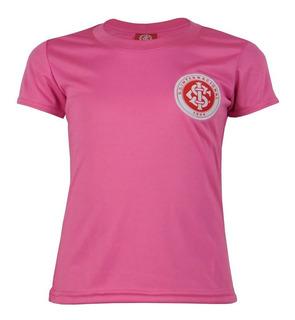Camisa Internacional Infantil Dry Rosa