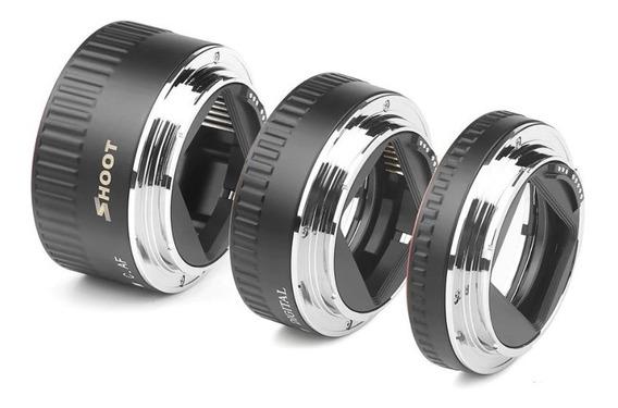 Tubo Extensor Macro Para Canon Dslr - Pronta Entrega*