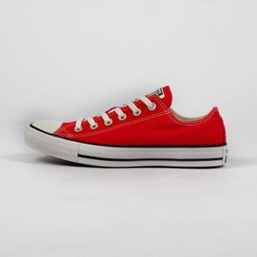 Tênis All Star Vermelho E Branco Converse Original Novo