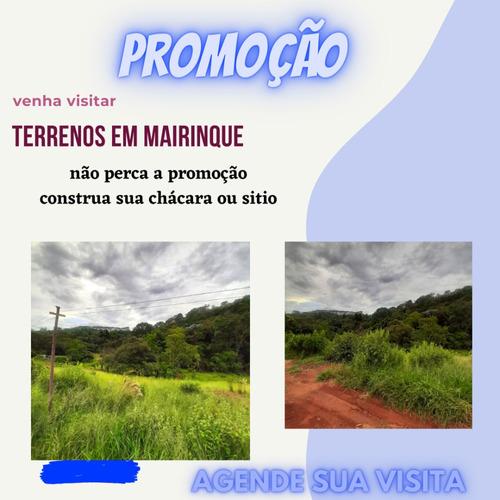 Compre Um Terreno De 1000² Em Mairinque - Sp