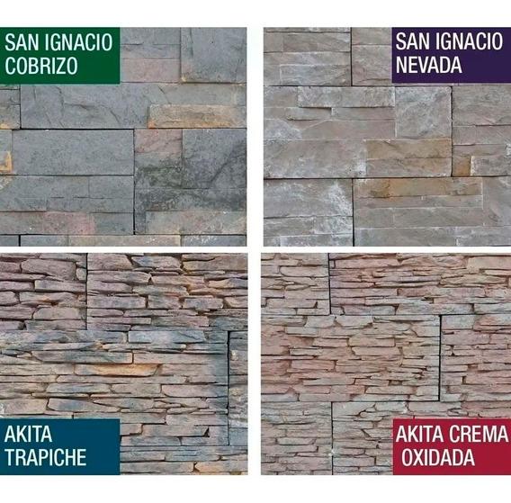 Revestimiento Simil Piedra Ecostone San Ignacio Ceramica Murete Pared Textura Rustico Decoracion Frente Fachada Exterior