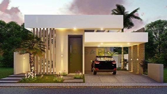 Casa Com 3 Dormitórios À Venda, 200 M² Por R$ 950.000 - Condomínio Villa Carioba - Americana/sp - Ca0608