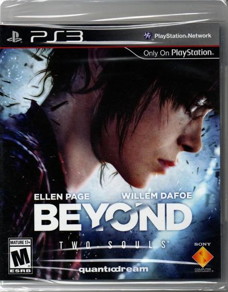Beyond Two Souls Ps3 Novo, Lacrado, Mídia Física