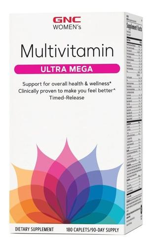 Multivitaminico Mega Woman 180tabs Gnc - P/ Mulher
