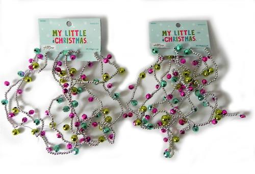 Imagen 1 de 4 de Tiras Decorativas Para Árbol De Navidad, Incluye 2 Paquetes
