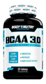 Bcaa 3g - 50 Tabletes - Body Nutry