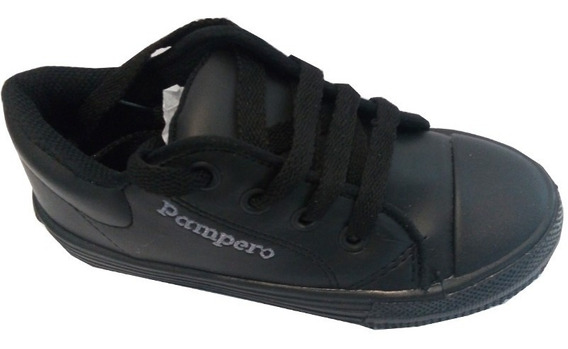 Zapatillas Escolares Niñas Cuero Marca Pampero Modelo Ale