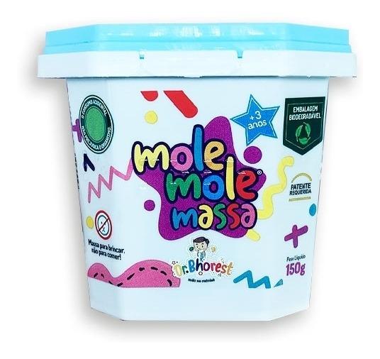 Massinha Modelar Perfumada Mole Mole Azul Bb 150g Dr Bhorest