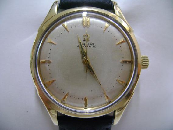 Reloj Omega Bumper Original Automático Acero Y Oro
