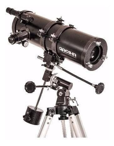Telescópio Equatorial Newtoniano C/ Tripé E Acessorios Envio