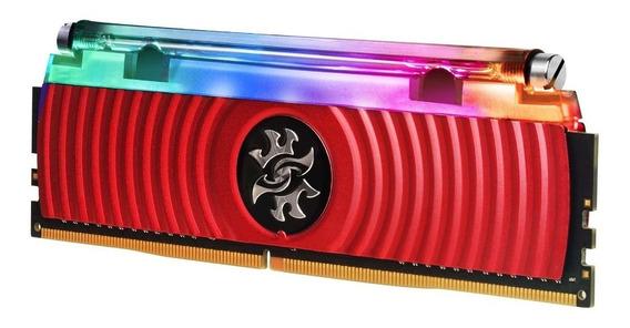 Memória Dd4 8gb 3200mhz Desktop Xpg Spectrix D80 Led Rgb