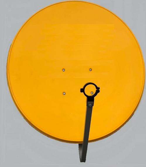 Antena Parabólica Para Banda Ku, De 75cms. De Diám. Amarilla
