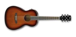 Guitarra Electroacustica Ibanez Pn12e Caoba Parlor Body