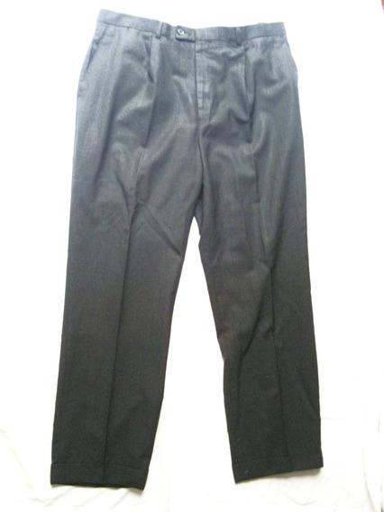 Aurojul-cristian Dior Pantalon Gris Pizarra Talle 50