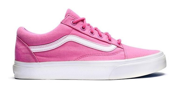 Vans Zapatilla Lifestyle Mujer Old Skool Rosa Fkr