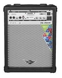 Caixa Multiuso Voxstorm 35w Com Bateria Vsu-250 Usb 12v Preta