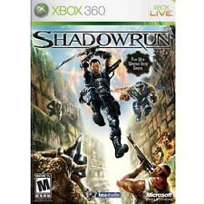 Shadowrun X-box 360 Completo Con Caja Y Manual Fisico