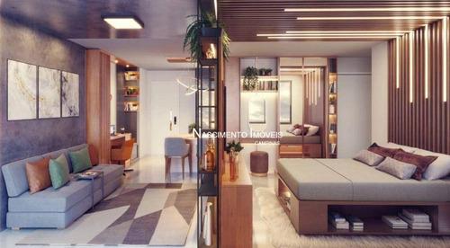 Imagem 1 de 28 de Apartamento Studio Com 1 Suíte À Venda, 46 M² Por R$ 338.000 - Bosque - Campinas/sp - St0001