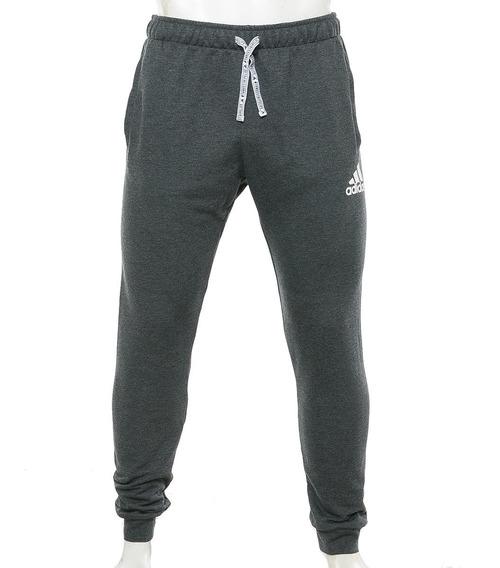 Pantalón Essentials Logo Aop Gris adidas