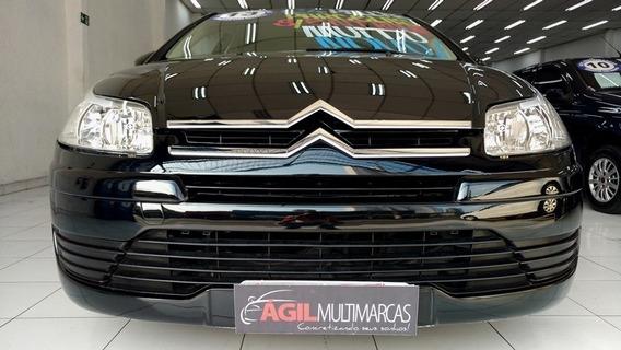 Citroen C4 Pallas Glx 2.0 Preto 2013 Único Dono