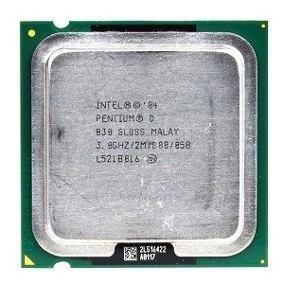 Lote 6 Processador Intel Pentium D830 3.00ghz 800mhz Lga775.