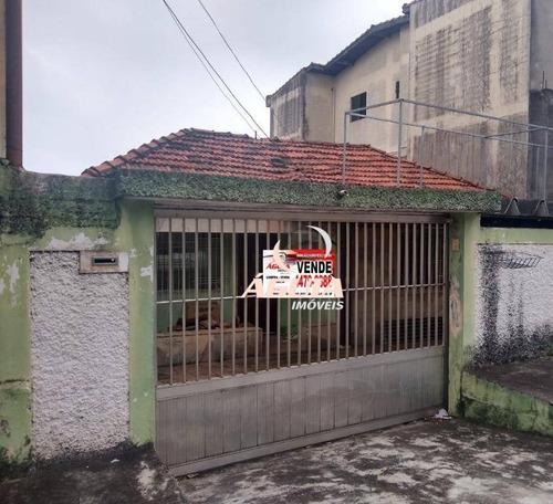 Terreno À Venda, 250 M² Por R$ 399.999,99 - Parque João Ramalho - Santo André/sp - Te0265