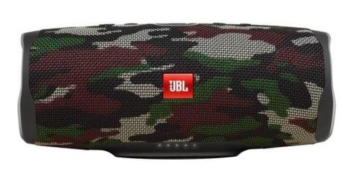 Imagen 1 de 6 de Bocina JBL Charge 4 portátil con bluetooth squad 110V/220V