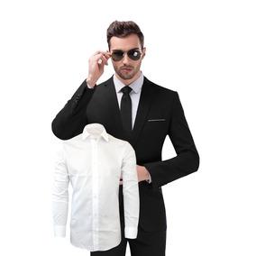 Ternos Masculinos Slim Casamento Noivo + Camisa Social Branc