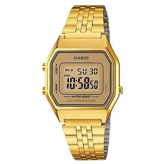 Relógio Casio Feminino La680wga-9df Vintage C/ Garantia E Nf