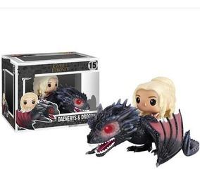 Daenerys & Dragon Game Of Thrones Pop Funko Frete Grátis!!!